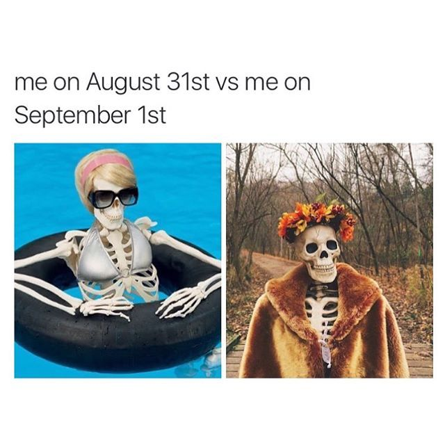 Pin For Later 12 Memes For People Who Have Absolutely Zero Chill About Fall You Would Start Celebrating Earlier If Yo Halloween Memes Fall Memes Spooky Memes