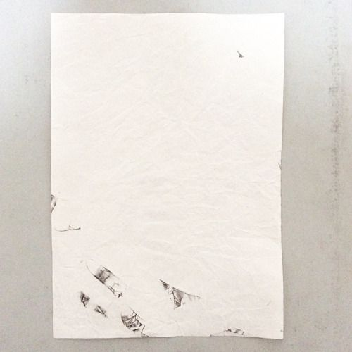 #WORK 016 MAY, 2015 297x210mm #pencil on #paper [tag] #abstract #drawing #beauty #simple #blank #space #void #indication #trace #deficiency #shading #foggy #shabby #vintage #patina #aged #crease #minimal #blur #snow #missing #oxidation #stain #zen #余白 #濃淡 #禅