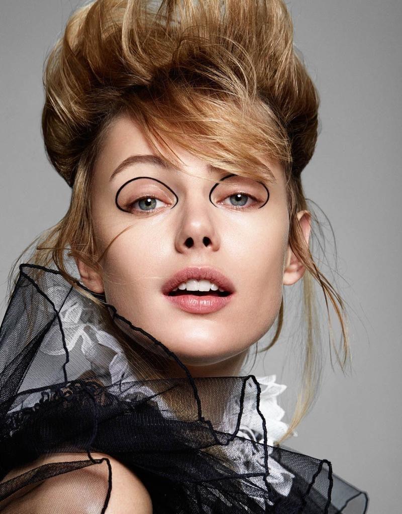 Frida Gustavsson by Dan Beleiu for Vogue Ukraine September
