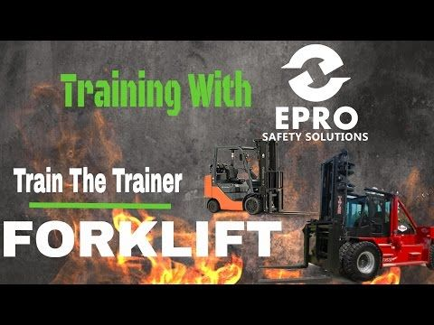 Training with EPRO Safety Solutions - #YouTube #EPROSafety #safetytraining #safety #training #equipment #inspection #SaveALife #osha #construction #forklift