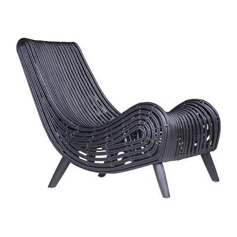 Armchair Congo Design In Black By Uniqwa Relaxing Chair