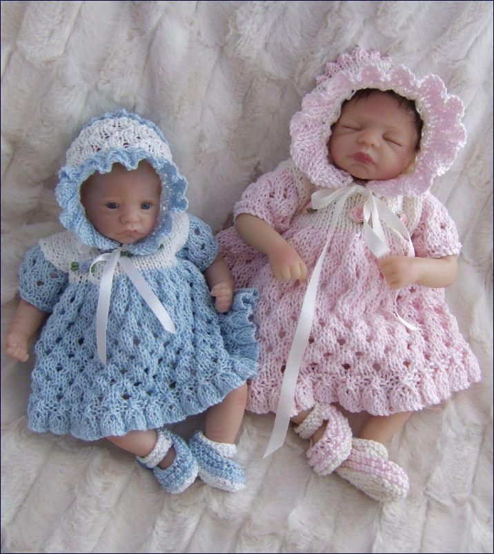 Increíble Bebé Prematuro Ropa Patrones Que Hacen Punto Ornamento ...