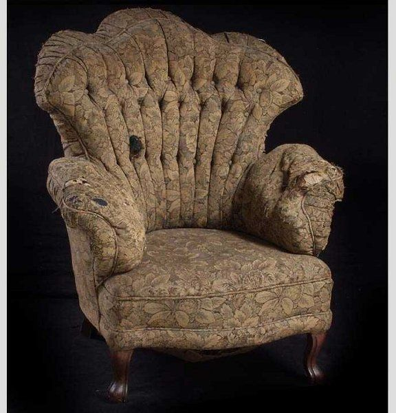 Overstuffed Chairs 786 Victorian Turkish Overstuffed Arm Chair