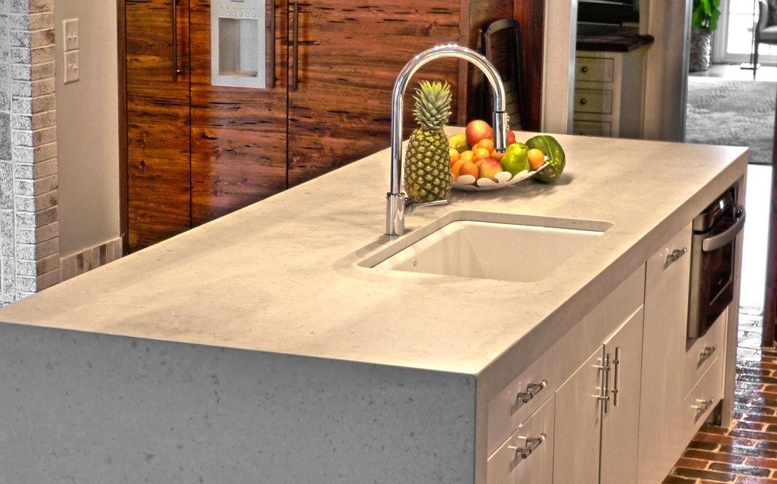 Schneider Stone Caesarstone White Zen Quartz Option For Attic