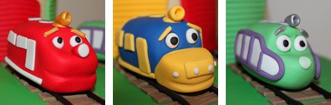Chuggington overflow I know Final post These cake toppers look