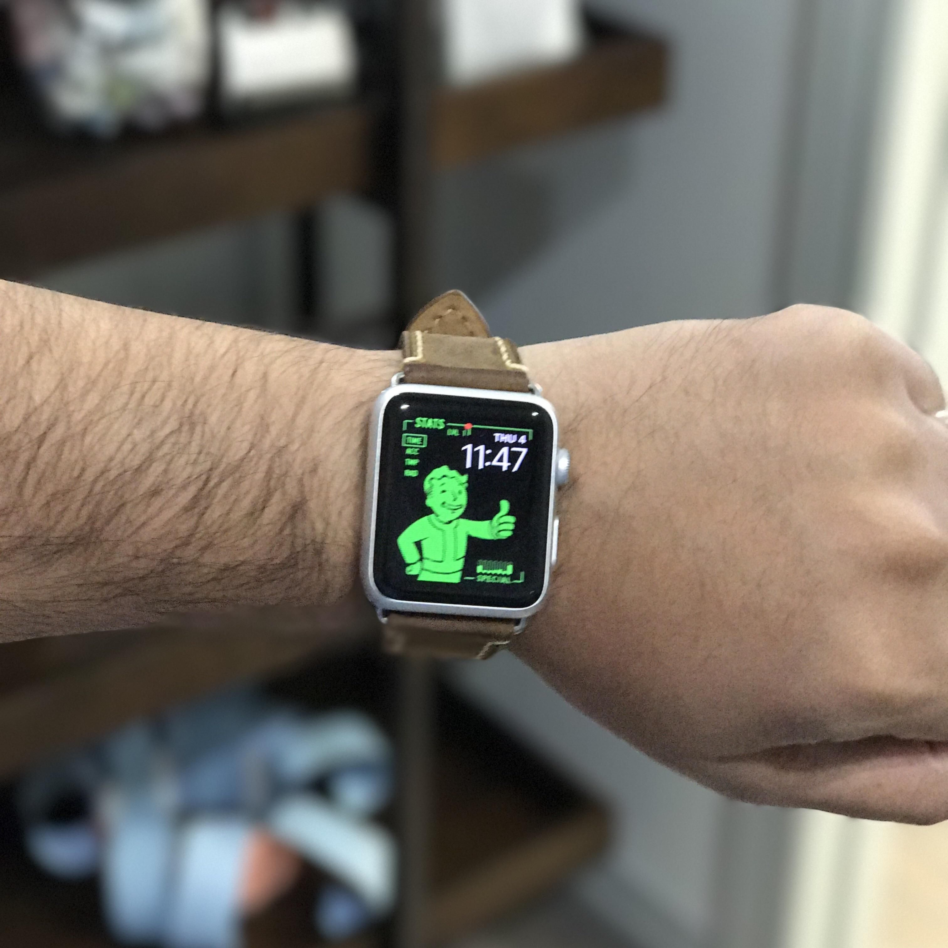 Apple Watch can be a PipBoy too! Fallout4 gaming