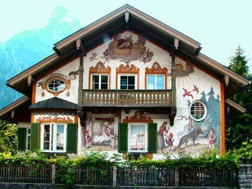 garmisch partenkirchen oberammergau rotk ppchen haus favorite places spaces old farm. Black Bedroom Furniture Sets. Home Design Ideas