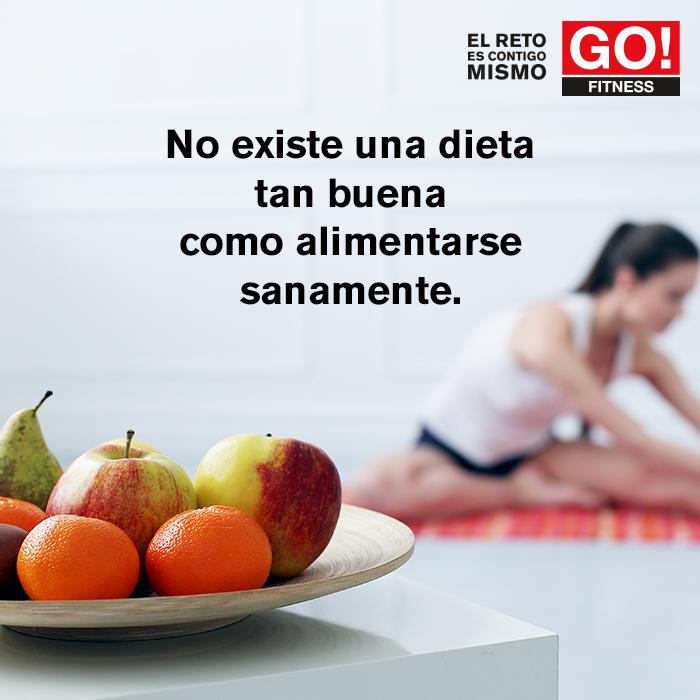 La mejor dieta... #gofitness #clasesgo #ejercicio #gym #fit #fuerza #flexibilidad #reto #motivate