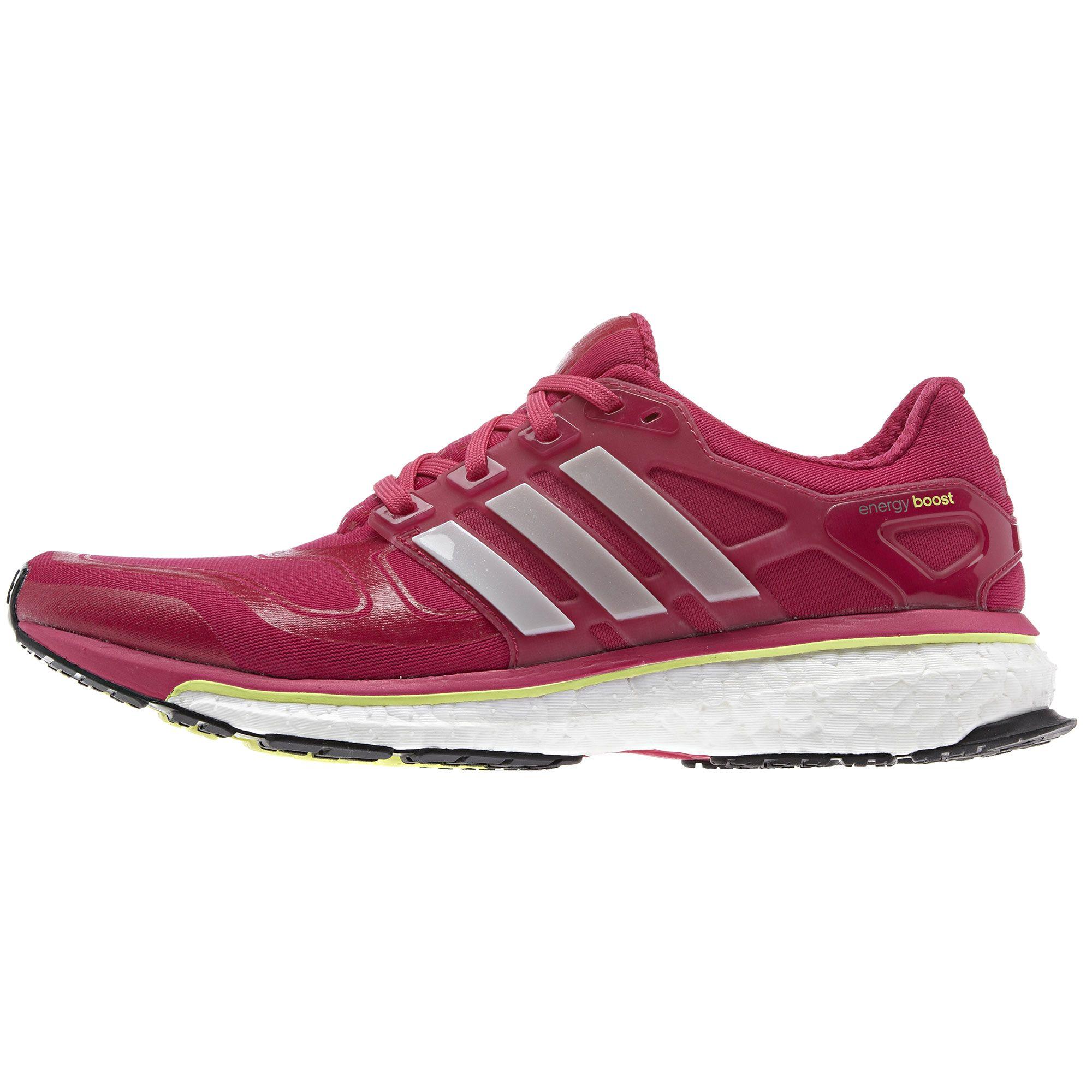 zapatillas de running de mujer adidas response boost rosa