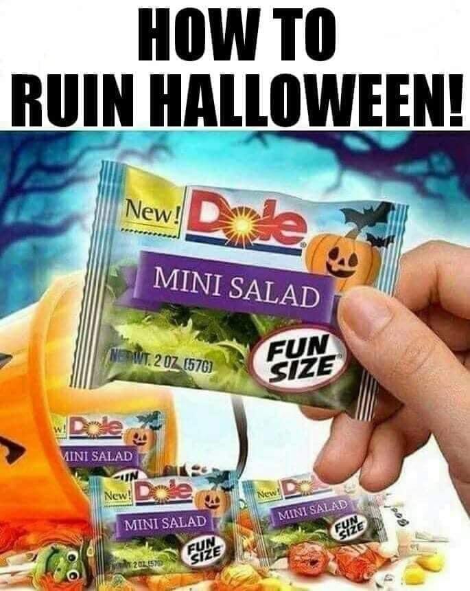 Pin by RLC DE on Halloween Vegan humor, Funny halloween