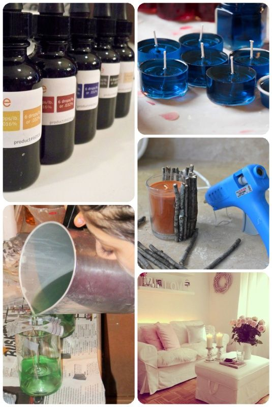 Simple Candle Making Instructions in 2020   Easy candles ...