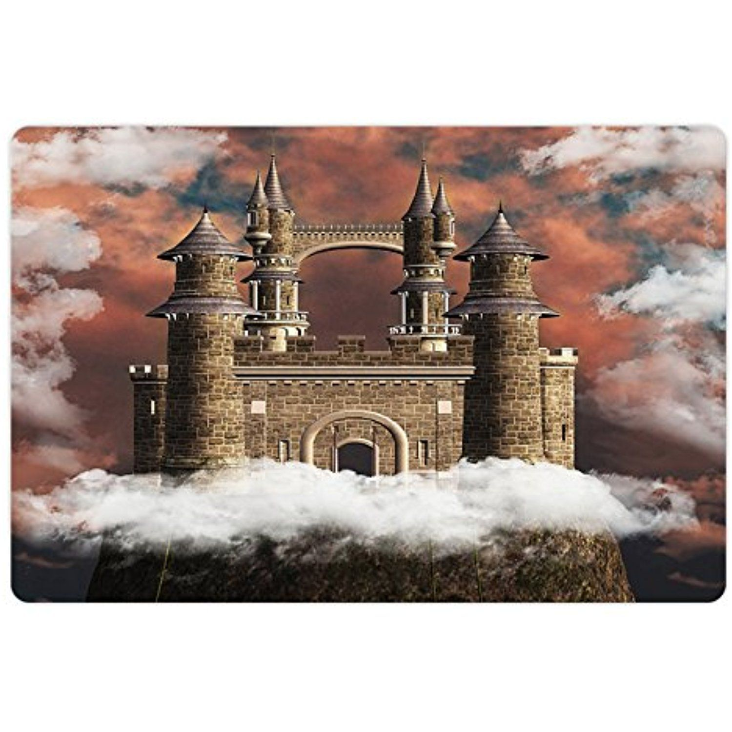 Medieval Pet Mats For Food And Water By Lunarable Fairy Magic Castle On The Hill Middle Age Tales Unusual Facts In Dog Feeding Castle On The Hill Unusual Facts