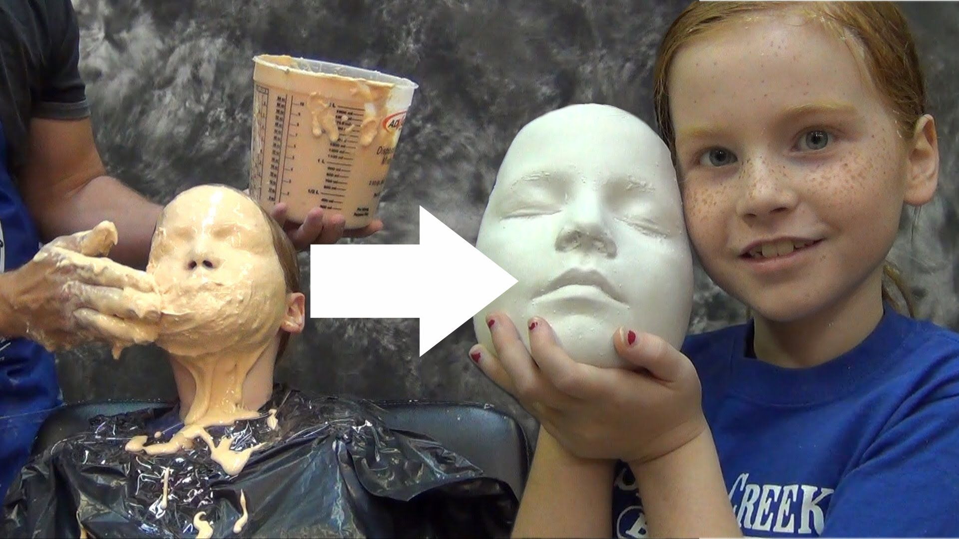 Lifecasting tutorial accucast face cast silicon special