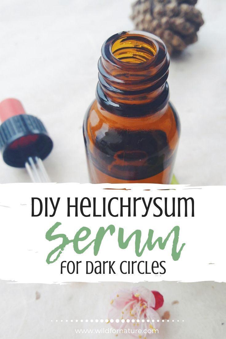 DIY Helichrysum Eye Serum For Dark Circles