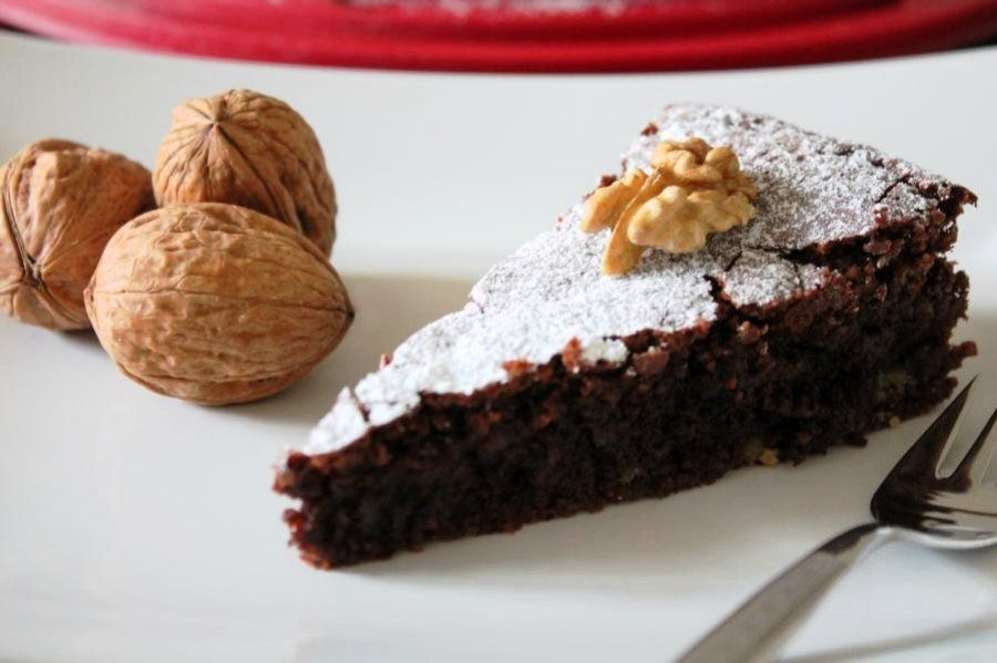 Photo of Juicy chocolate and walnut cake