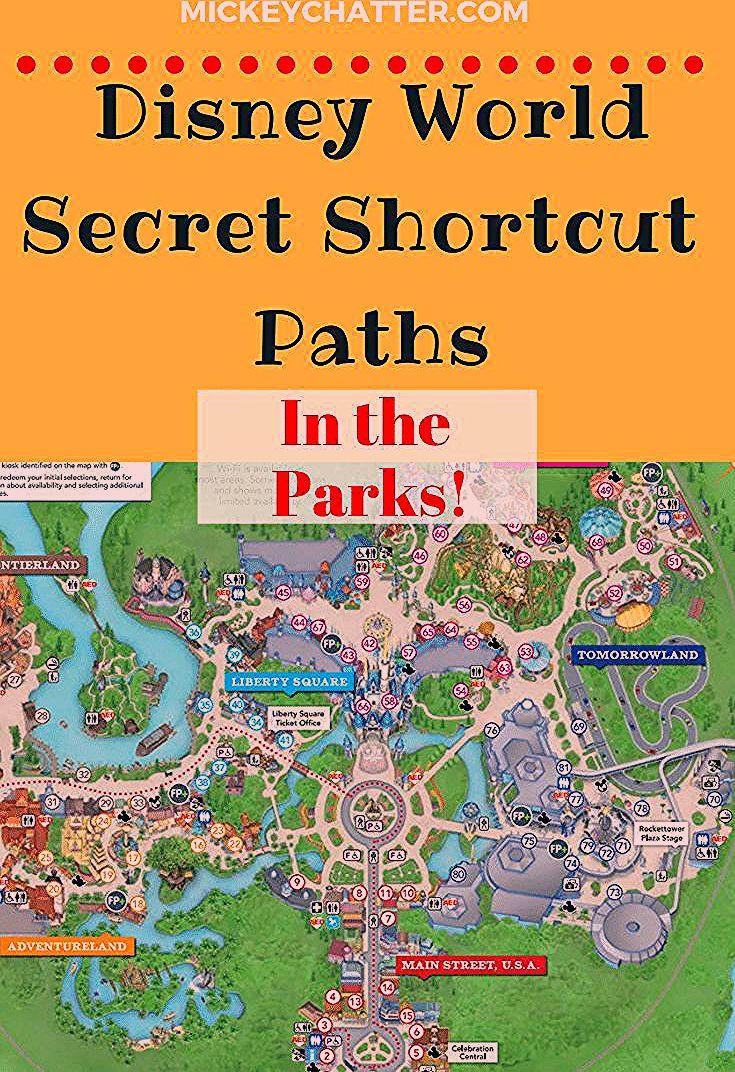Photo of Secret Shortcuts at the Disney World Parks – Mickey Chatter