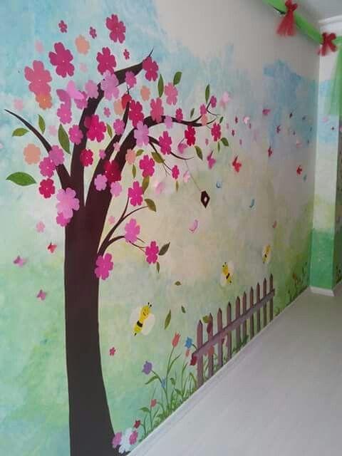 Classroom Design For Bulletin Board ~ Duvar süsleme anaokulu etkinlikleri school decorations
