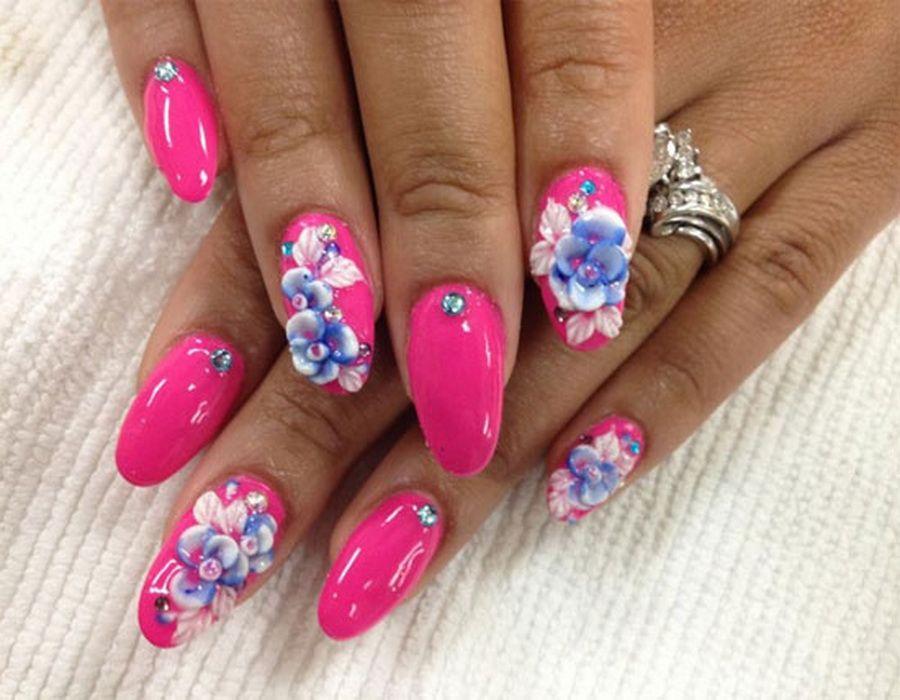 Best Acrylic Nail Art Designs   lovely nails   Pinterest   Acrylic ...