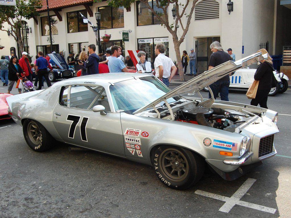 1970 Camaro Scca Racecar Split Chrome Front Bumper 1970 Camaro Camaro Race Cars