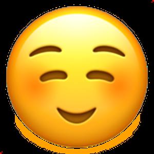 White Smiling Face Winking Face Emoji Winking Face Emoji
