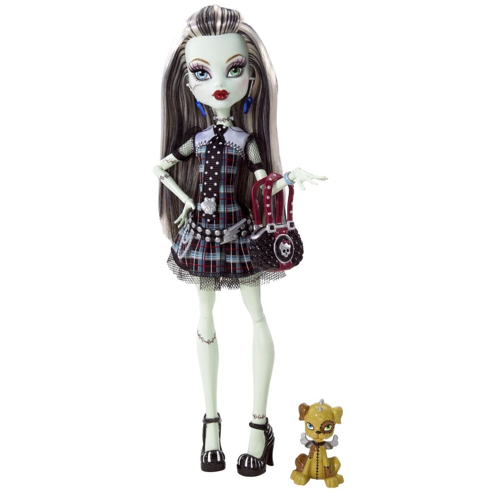monster high | TOYS: Frankie Stein : Monster High [2009-2012] Diseño ...