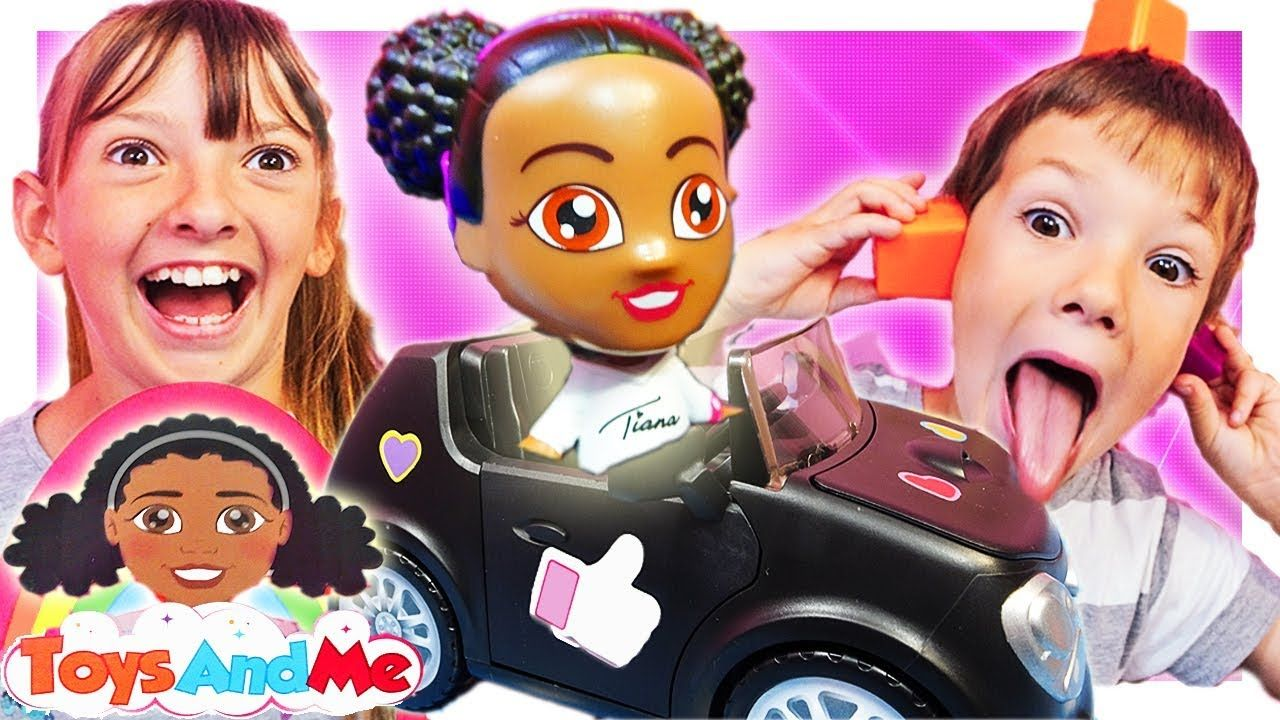 Tiana Toys And Me Power Wheels Car Kids Toy Unboxing Review Channel