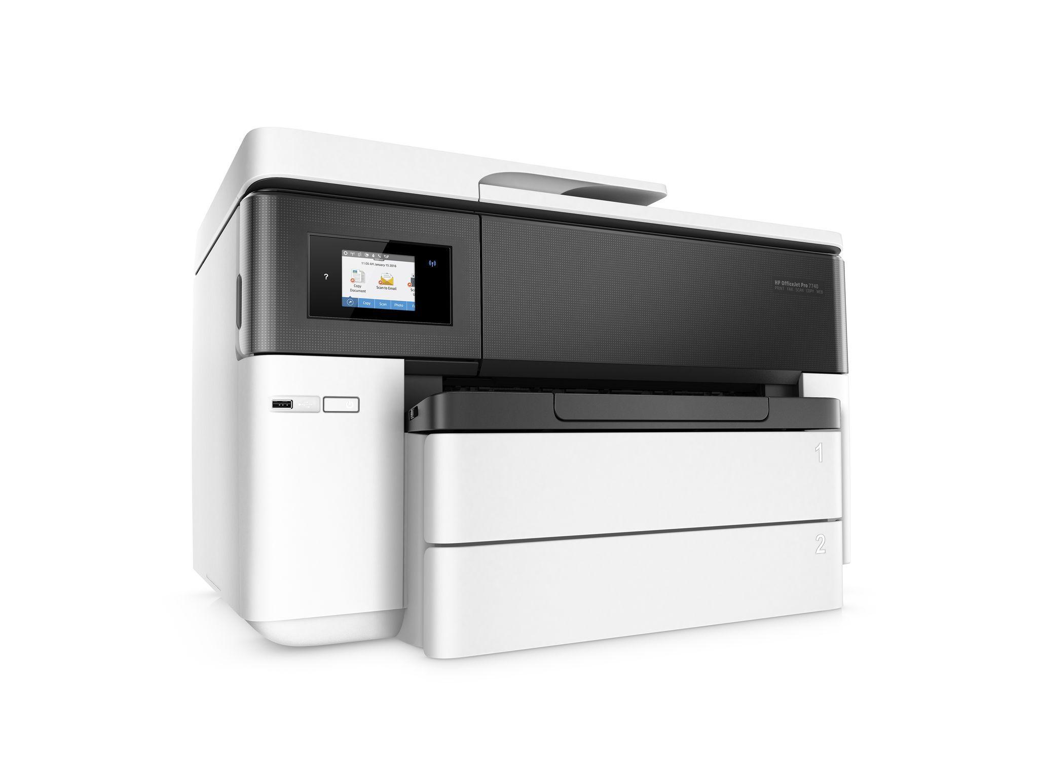 HP OfficeJet Pro 7740 Hp officejet pro, Multifunction