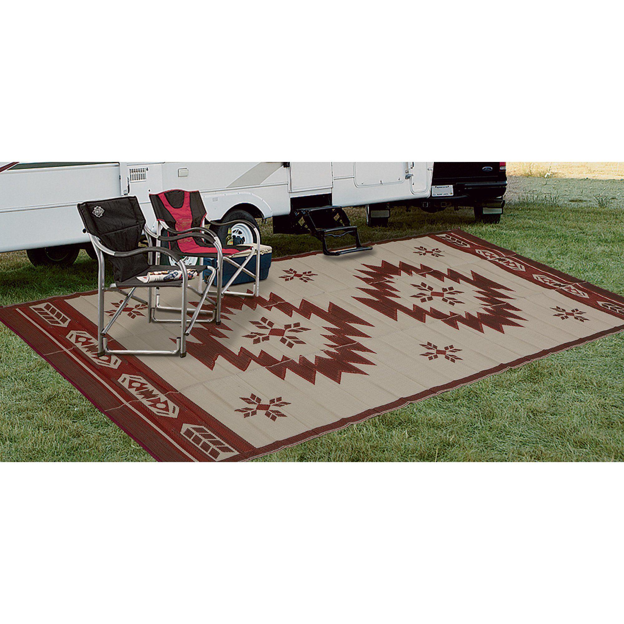 outdoor reversible patio rv mat
