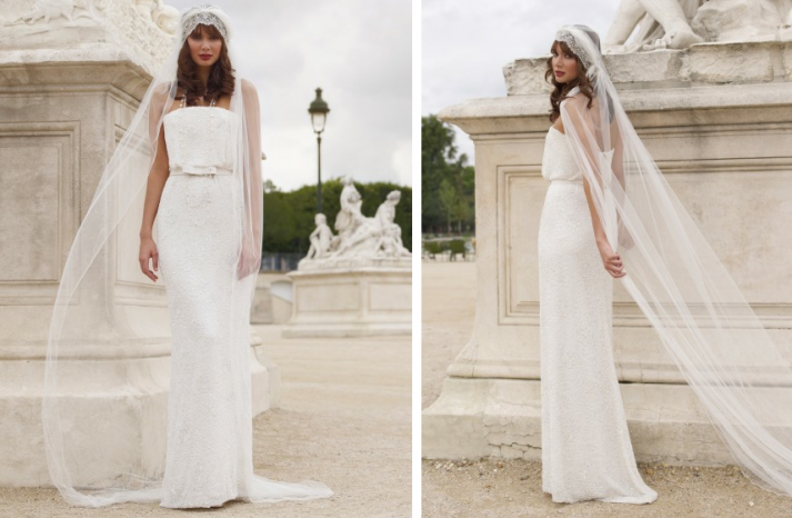 25 Bridal Stunners from Stephanie Allin | Veil, Vintage inspired ...