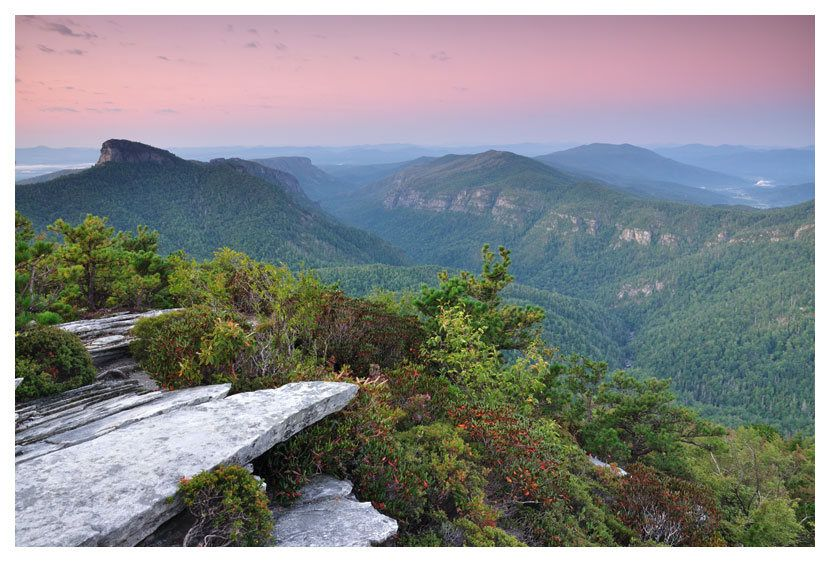 Hawksbill Mountain, Linville Gorge | Camping in north ...