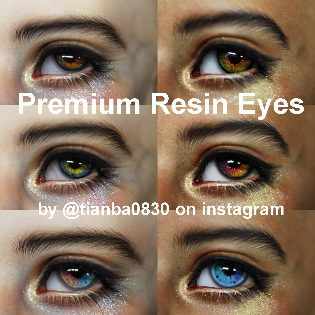 Premium Resin Eyes (by tianba0830): Custom Pre-Order