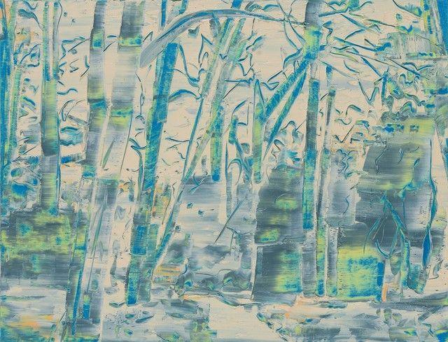 TREES IN ART • L'ARBRE DANS L'ART | Gilad Efrat (Israeli, born 1969), Tamarisk , 2014,...