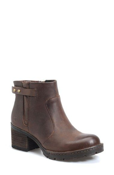 Free shipping and returns on Born 'Nisbet' Bootie (Women) at Nordstrom.com. Hand-crafted Opanka construction adds timeless quality to a go-anywhere bootie featuring a stacked heel, flexible sole and comfort-enhancing arch support.