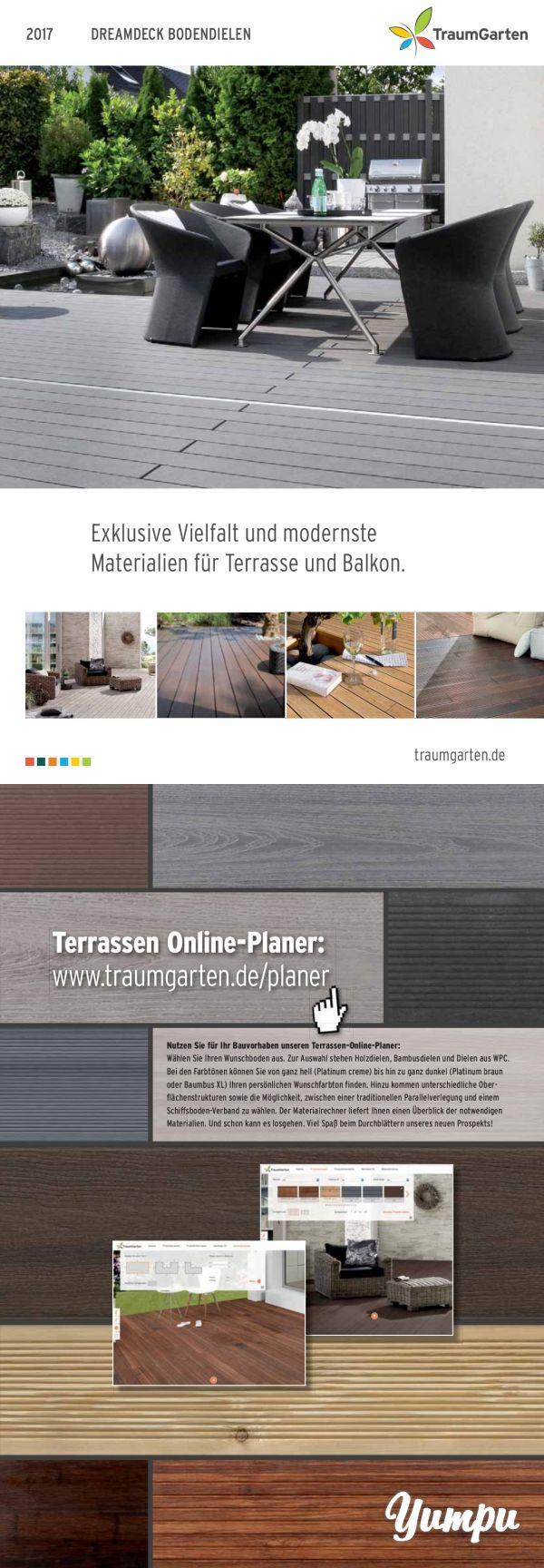 Traumgarten Trendige Bodenbeläge für Ihre Terrasse oder Balkon