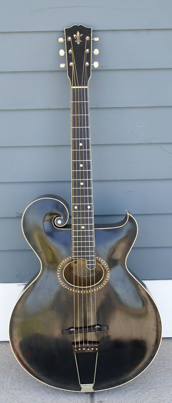 original 1913 gibson model 39 o 39 artist archtop guitar mandolin style seen but sadly not bought. Black Bedroom Furniture Sets. Home Design Ideas