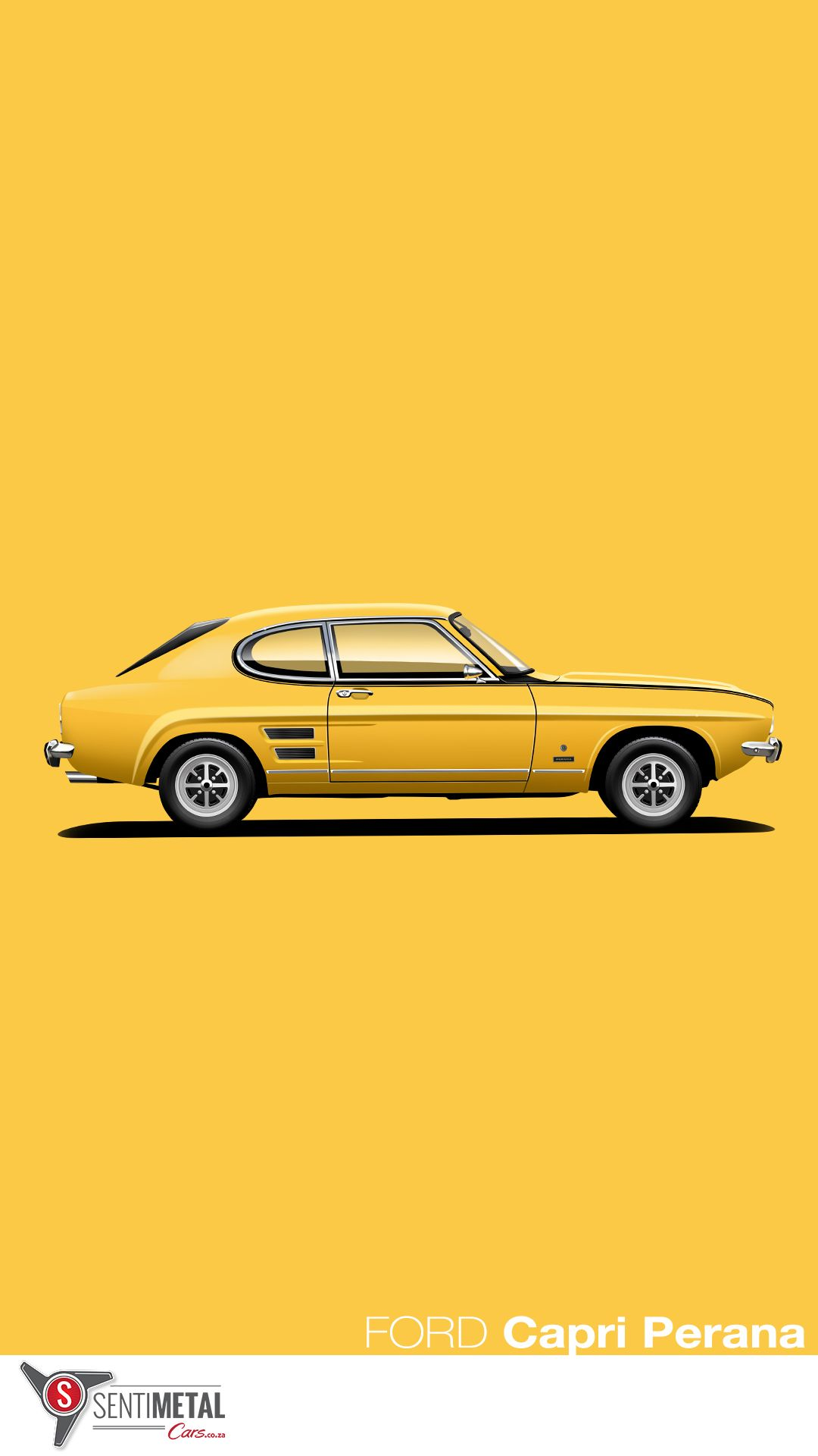 Ford Capri Perana . Developed locally by Motorsport legend Basil Green, and with full Ford factory