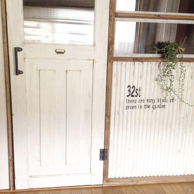 Arch To Meetさんの トタン 男前 子供部屋 手作り家具 Diy ドア