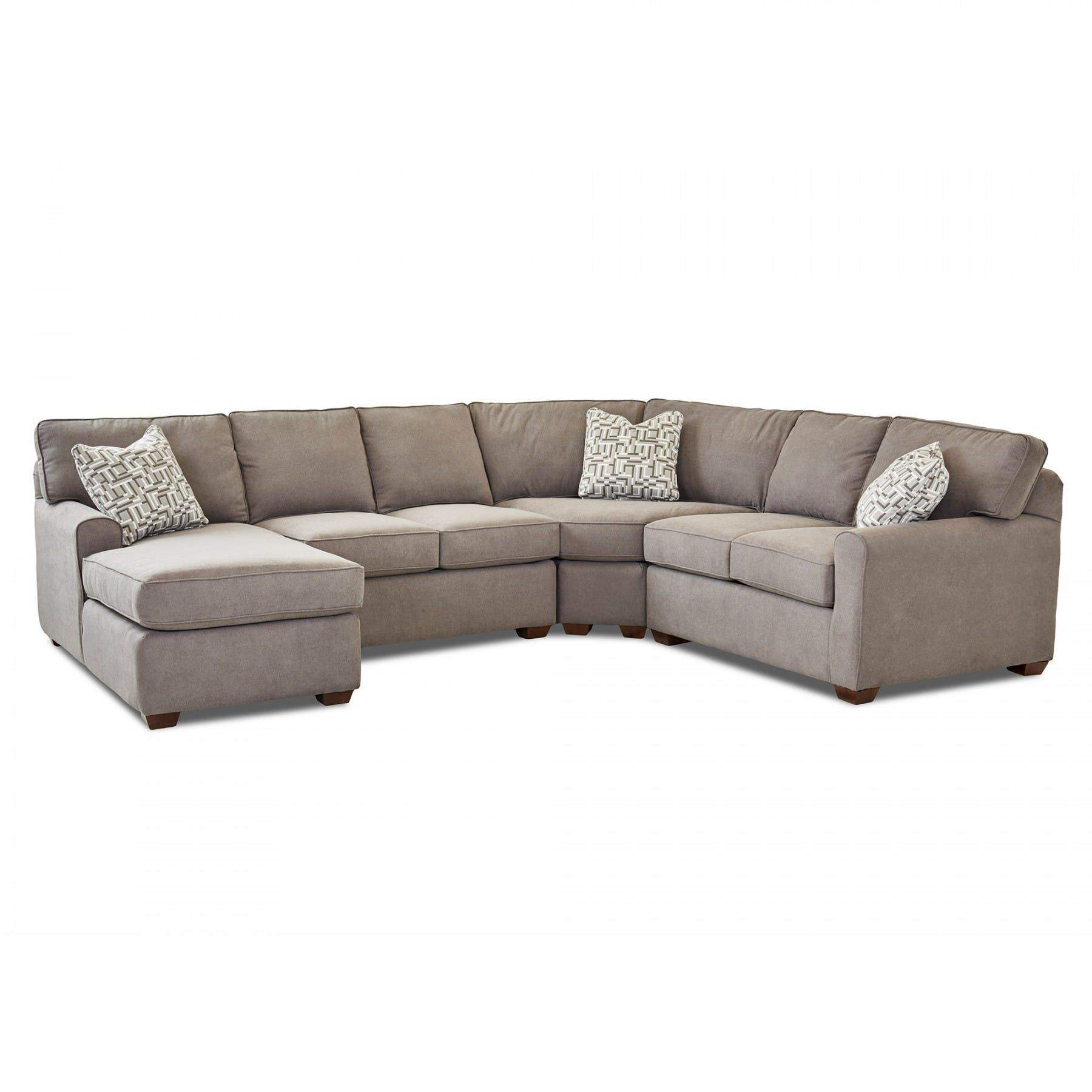 Hybrid Iii 4 Piece Sectional Sectionals Living Room Bernie Phyl S Furniture By Klaussner Industries