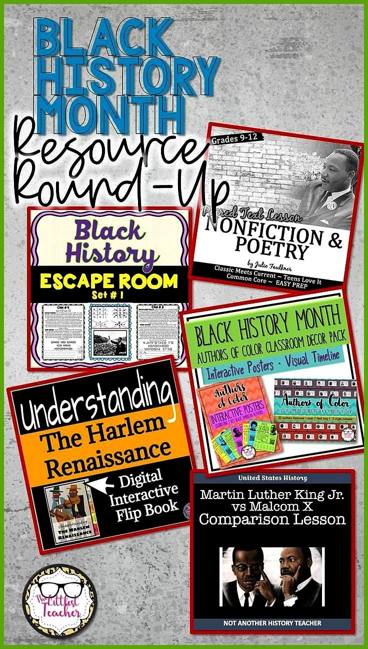 History Month Resource Round-Up Check out this curated collection of resources to honor Black Histo