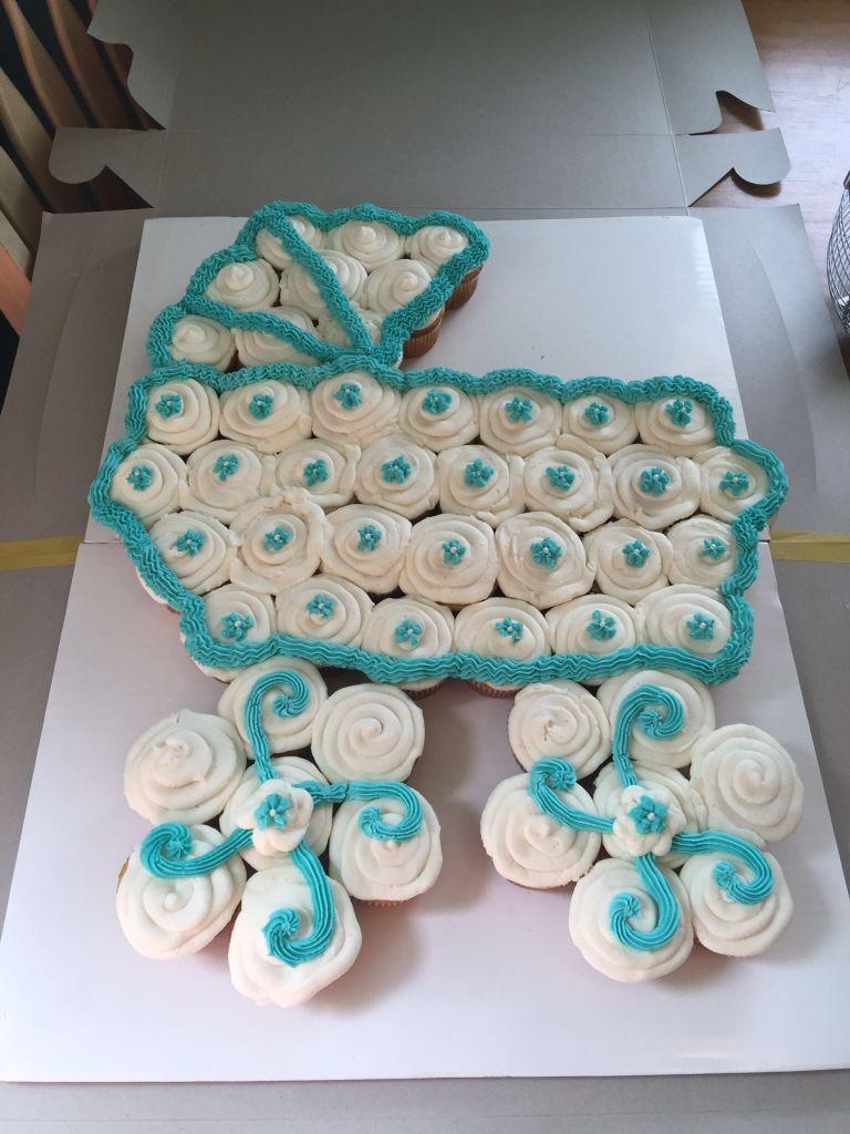 Baby Stroller Cupcakes Cake Baby Shower Cupcake Cake