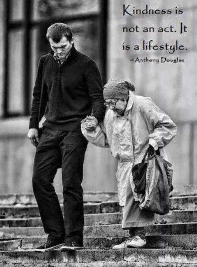 Kindness is not an act it's a lifestyle