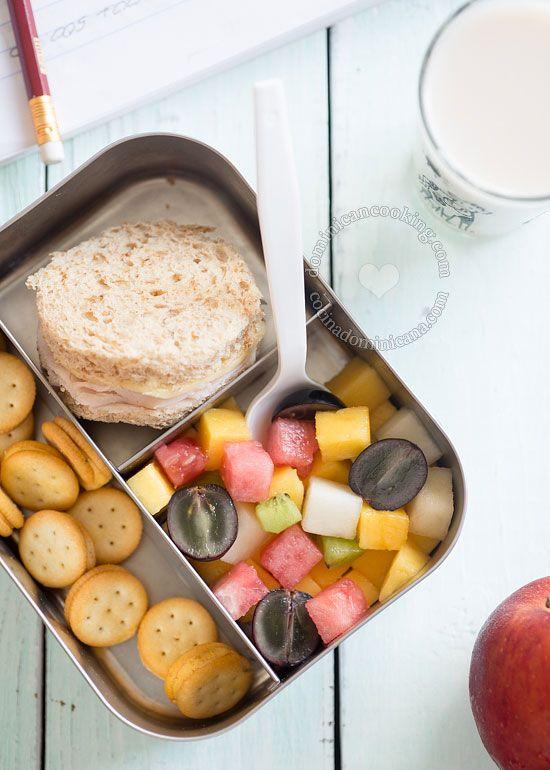 Back To School Lunch And Snack Ideas Meriendas Escolares