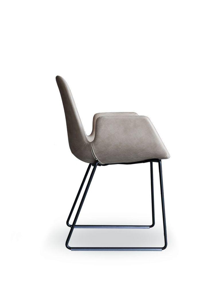 Tonon Step 904 Mit Armlehnen Und In Feinstem Leder Stuhl Design Stuhle Armlehnen