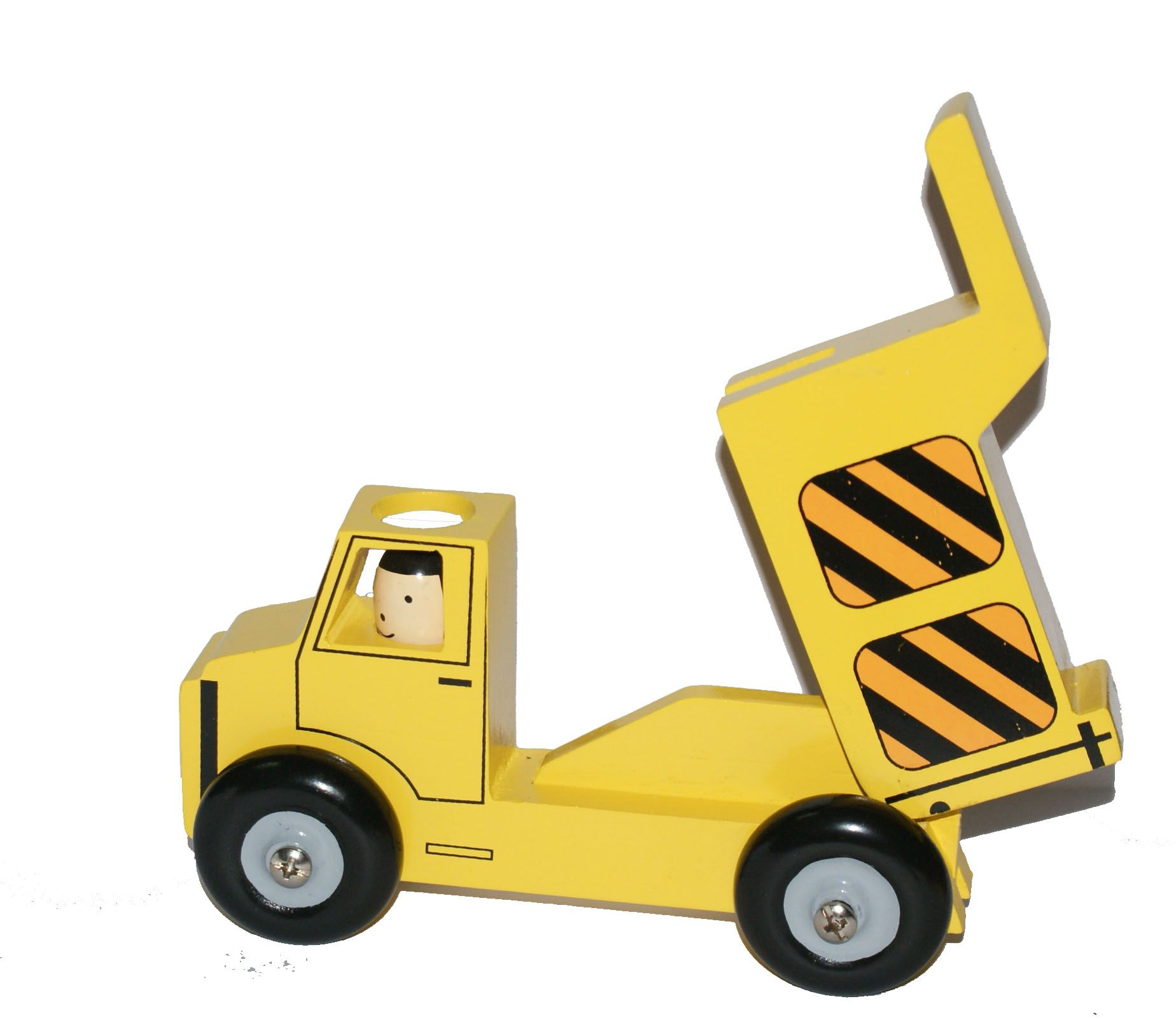 Dump Truck Made From Wood A Toys All Kids Love Rear