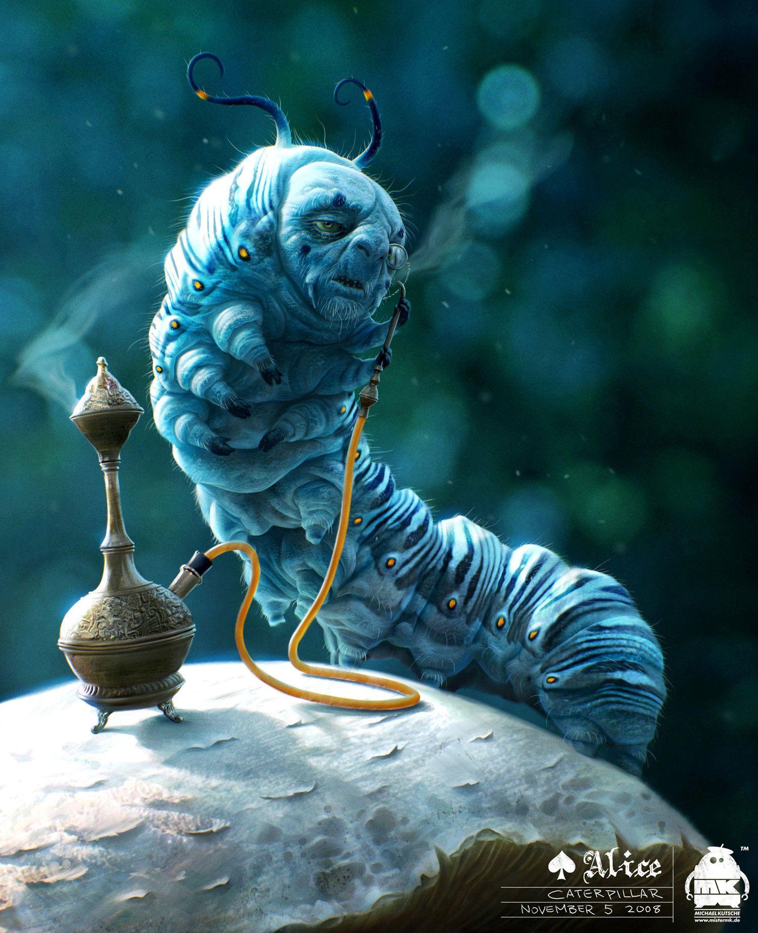 Caterpillar Concept C7 Jpg With Images Alice In Wonderland