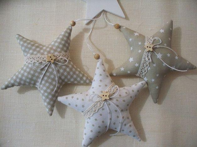 3 Sterne Im Liebevollen Lanhausstil Fur Die Weihnachts Oder