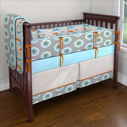 on the go retro custom 4 piece crib bedding set on the go retro rh pinterest ch