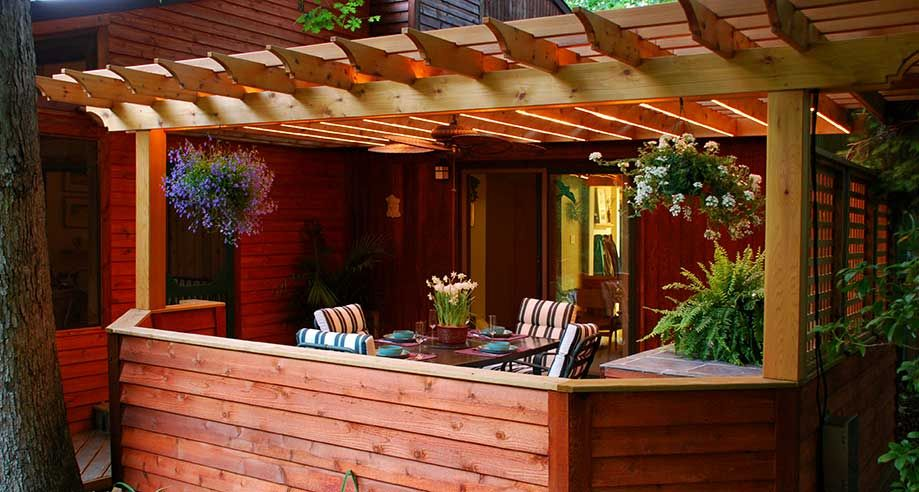 Savannah wood pergola kit (red cedar)...Backyard America Pergola Kits - Savannah Wood Pergola Kit (red Cedar)...Backyard America Pergola