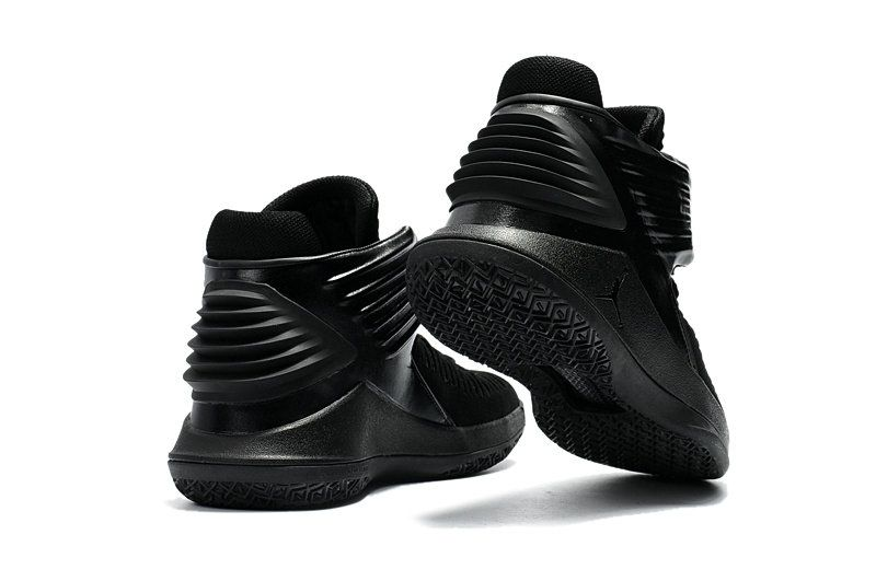 579096fa39b8 Newest Air Jordan 32 XXX2 All Black Basketball Shoes Size Euro 42.5 ...