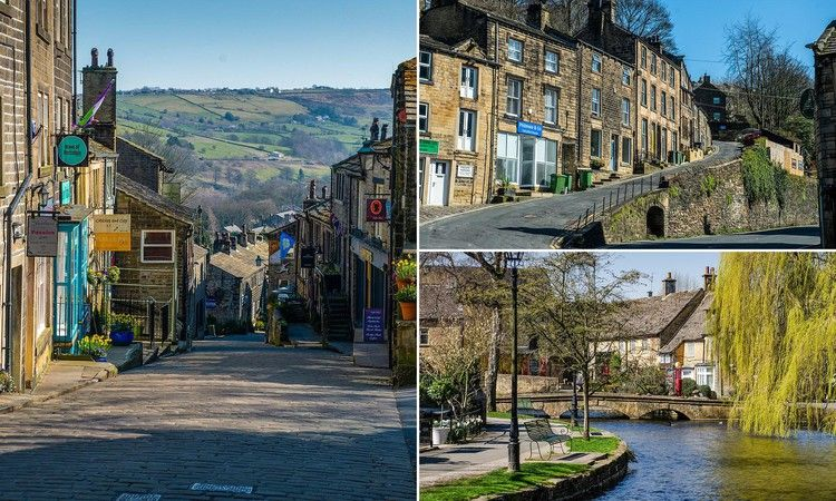 Pictures show Britain's most popular villages empty due to